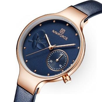 ผู้หญิงนาฬิกาแบรนด์หรูนาฬิกาแฟชั่นควอตซ์สุภาพสตรีสีฟ้า Rhinestone นาฬิกากันน้ำนาฬิกานาฬิกา relogio ...