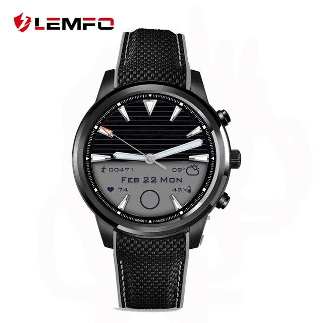 Лучший Lemfo MTK6580 LEM5 Smart Watch телефон с Android 5.1 OS 1 ГБ + 8 ГБ 1.39 дюймов экран Поддержка wi-fi Sim-карты Smartwatch для ios