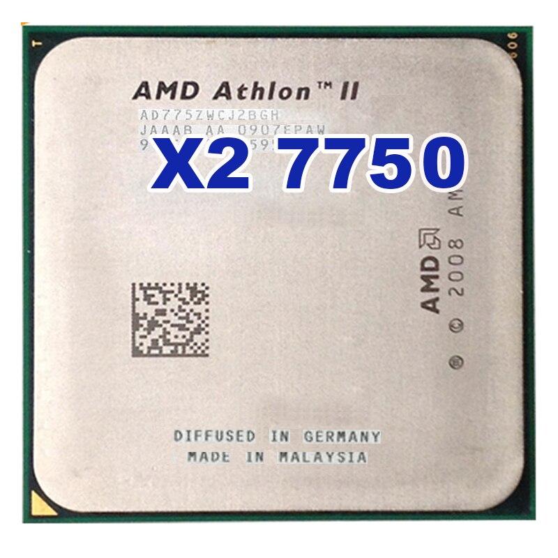 AMD Athlon 64 X2 7750 2.7GHz Socket AM2+ AM2 95W Dual-Core Processor amd athlon ii x2 340