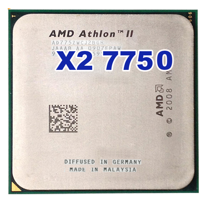 AMD Athlon 64 X2 7750 2.7GHz Socket AM2+ AM2 95W Dual-Core Processor