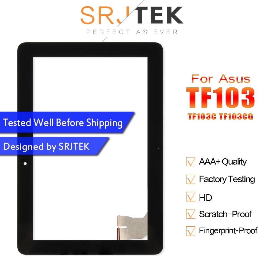 Tela de toque Para O Asus Transformer Pad TF103 TF103CG TF103C K018 Touchscreen Digitador Sensor de Vidro Substituição Tablet Parte 7