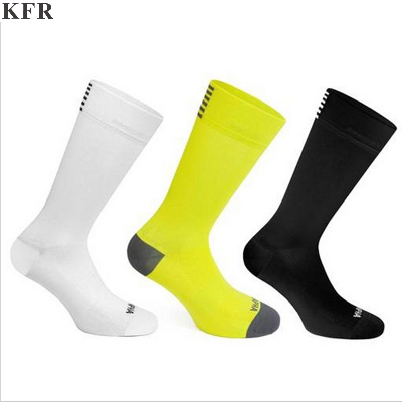 Cycling Socks Men Compression Breathable Road Bicycle Outdoor Sports Racing  Nylon Polyester