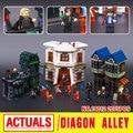Lepin 16012 Caliente-venta de la Nueva Película de Serie El Callejón Diagon Set Divertido Building Blocks Ladrillos Educativos del Muchacho Divertido juguetes 10217
