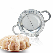100% brand new Stainless Steel Dumpling Maker Wrapper Cutter Pie Mould 1/2PCS
