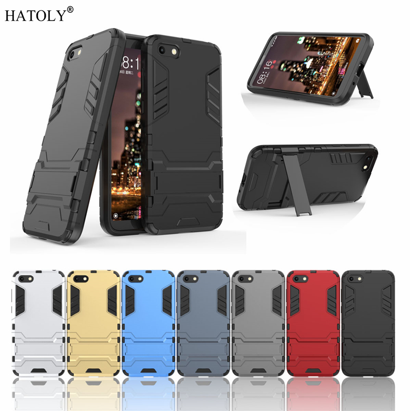 For Huawei <font><b>Honor</b></font> 7A <font><b>Case</b></font> Rubber Robot Armor Shell Hard Back Phone Cover for <font><b>Honor</b></font> <font><b>7s</b></font> <font><b>DUA</b></font>-<font><b>L22</b></font> Protective <font><b>Case</b></font> for Huawei <font><b>Honor</b></font> 7A image