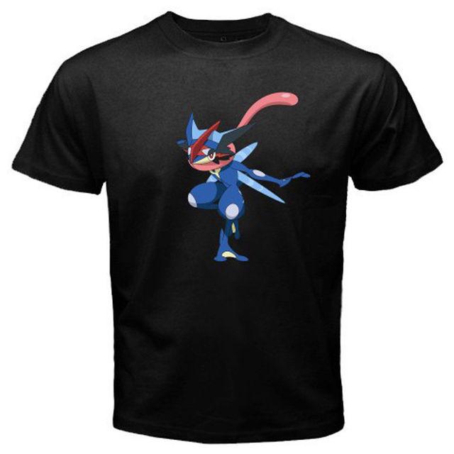 2ada6833 New Pokemon Greninja Mega Evolve Ash Men's Black T Shirt Size S 3XL ...