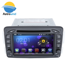 16 GB Nand Flash,4 Core, Android 5.1 Car DVD Navigation GPS Radio Player for Mercedes G Class W463 C Class W203,  3G WiFi
