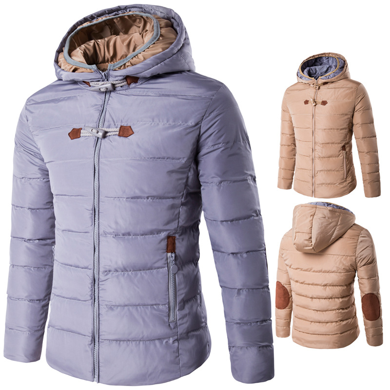 ФОТО 2016 New Winter men 's hooded Coat cotton high-quality waterproof thickening Man Parkas warm cotton padded Coat D016