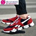 Hombres de Moda Casual Zapatos de Los Hombres Con Cordones de Primavera Otoño Invierno Hoja Casual Mens Marea Resistencia Al Deslizamiento Entrenadores Nuevos llegada
