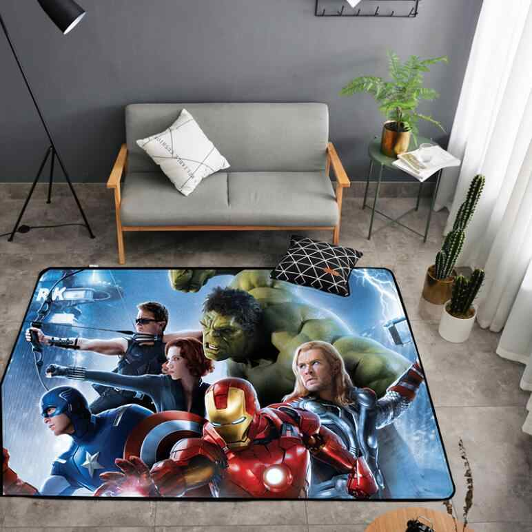 Terrific American Carpet Batman Superman Printed Soft Carpets Anti Pabps2019 Chair Design Images Pabps2019Com