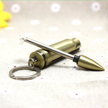 10pcs Million matches bullet lighter with Keychain universal Outdoor Emergency Fire Starter Camping Hiking Survival Tool Safety