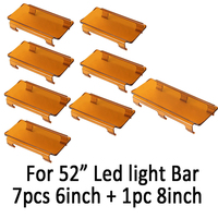 50 Inch Snap On Dust Proof Protective Cover 7pcs 6 1pc 8 For 52 Inch Led