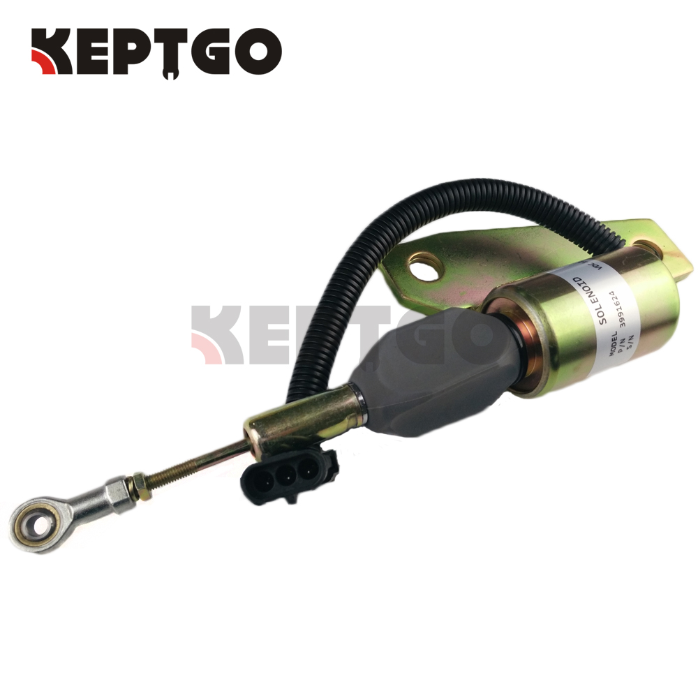 SA-4959-12, 3991624 12v Fuel Stop Solenoid For Cummins 6BT Engine fuel stop solenoid 12v mv1 70 897183 0140 for hitachi excavator ex50u isuzu 4le2 8971830140