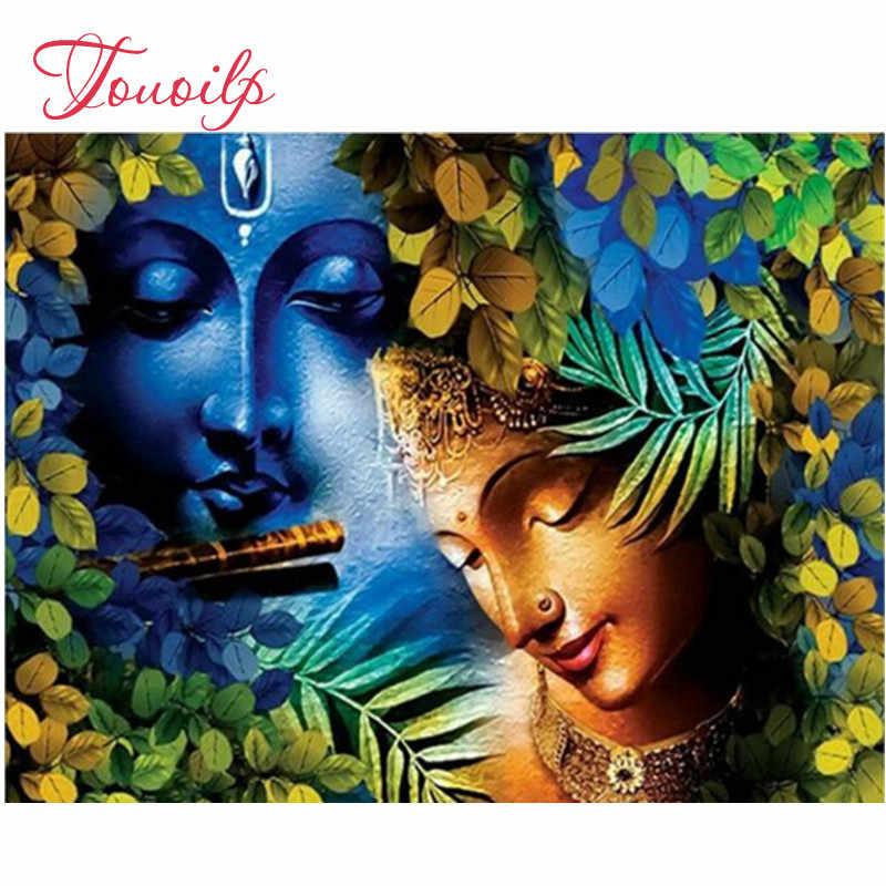 DIY ציור יהלום רקמת בודהה, 5D, יהלומי ציור, דתי סמלי, 3d צלב תפר, יהלומי פסיפס תמונה, קיר מדבקה