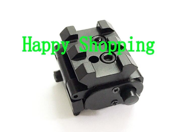 Мини Компактный Тактический красный точечный лазерный прицел, пригодный для пистолета с рейкой 20 мм коллиматор лазерное ружье