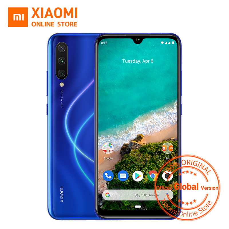 Global Version Xiaomi Mi A3 4GB 64GB Smartphone CC 9e Snapdragon 665 Octa Core 6.088