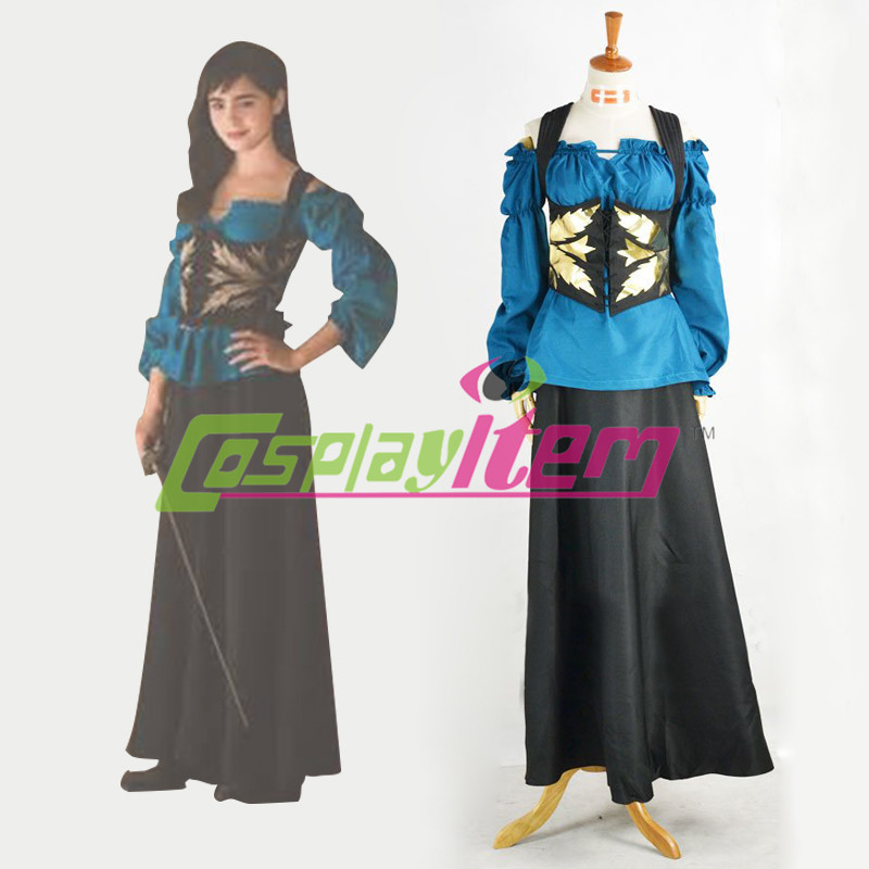 Snow White Cosplay Dress Lily Collins Mirror