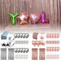 12 Inch Agate Confetti Balloon Set with Sequined Table Flag for Wedding Birthday Party Activity Decorations Great Performance