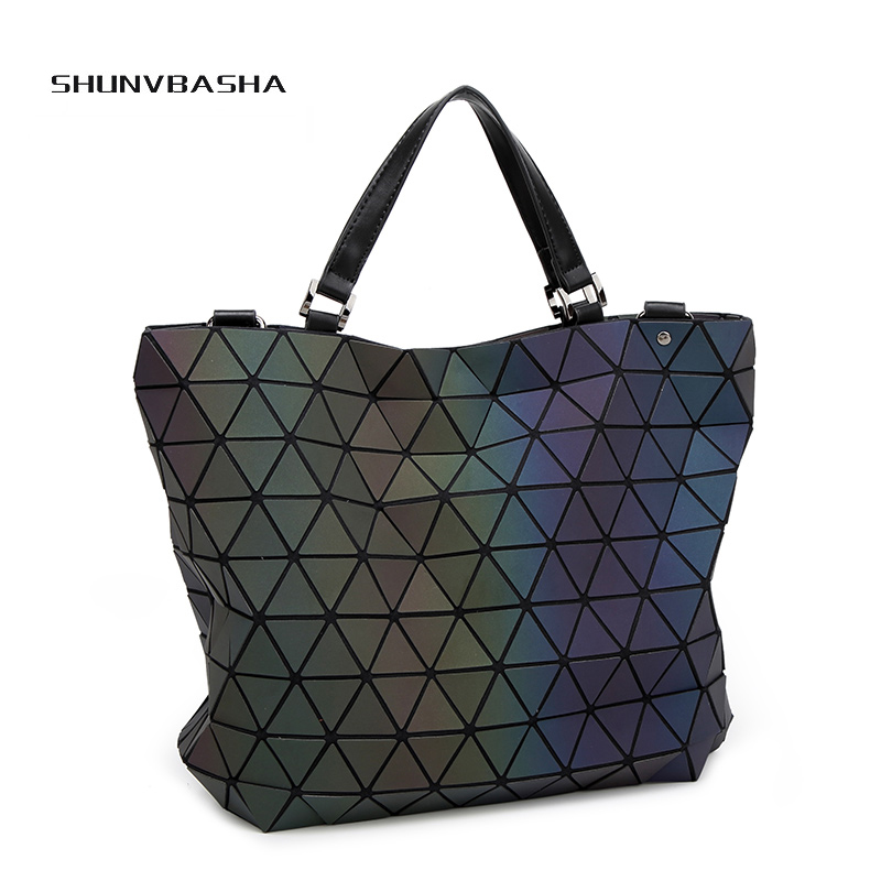 bao bao laser luminous bag luxury handbags women bags designer bolsas