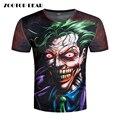 3d t-shirt Dos Homens camiseta Coringa Impresso Engraçado Badass Top t-shirt Engraçado Da Novidade Streetwear Joker Masculino 3D Camisetas Filme ZOOTOP URSO