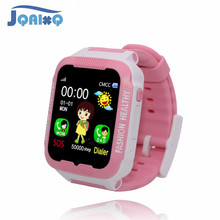 JQAIQ Childrens Smart Watch Kids Sos Call  Location Device Tracker Girls Safe Clock Anti-lost Monitor Support Learning Software