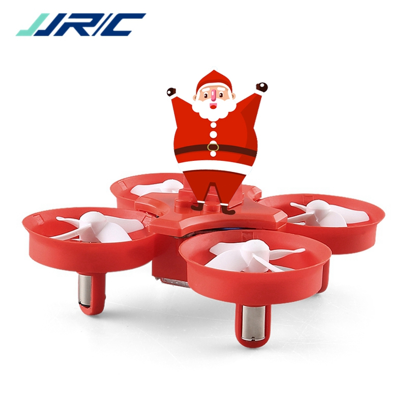 JJRC H67 Flying Santa Claus W/ Christmas Songs RC Quadcopter Drone Toy RTF For Kids Best Gift Present VS H36 E011C E010