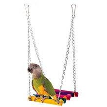 Pet Bird Parrot Hamster Hammock Toys Parakeet Budgie Cockatiel Cage Hammock Chew Toys For Birds