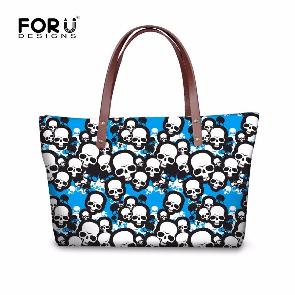 ФОТО Fashion Women Large Crossbody Bag Skull Pattern Woman Handbags Famous Brands Ladies Messenger Shoudler Bag Mujer Bolsa Feminina