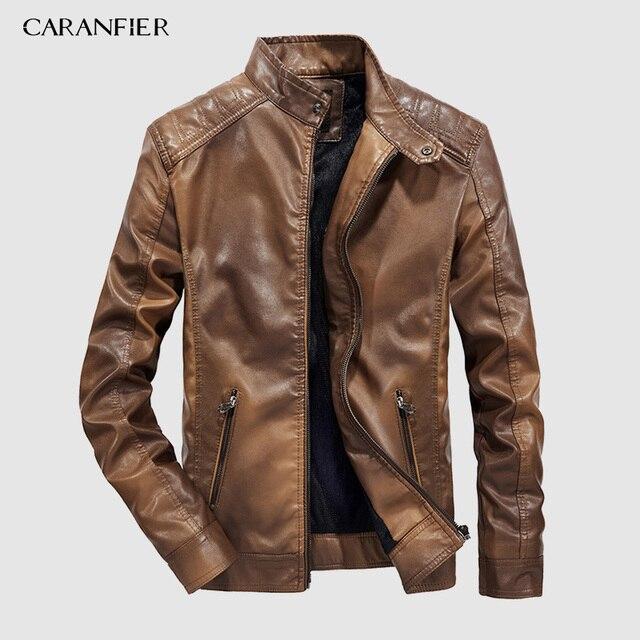 Faux Leather Jacket 1