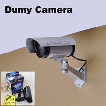 DONPHIA Fake Camera Silver Black Dummy Camera Retail Box Plastic Material Simulation Camera