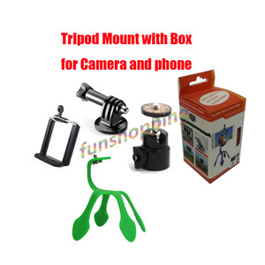 Mini Tripod Mount Portable Fle