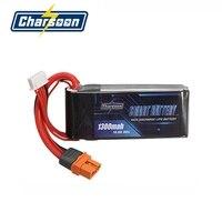 In Stock Charsoon BattGo 14 8V 1300mah 80C 4S Smart Lipo Battery XT60i Plug For ISDT