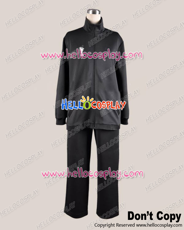 Haikyu Cosplay Juvenile Black Sportswear Uniform Costume H008
