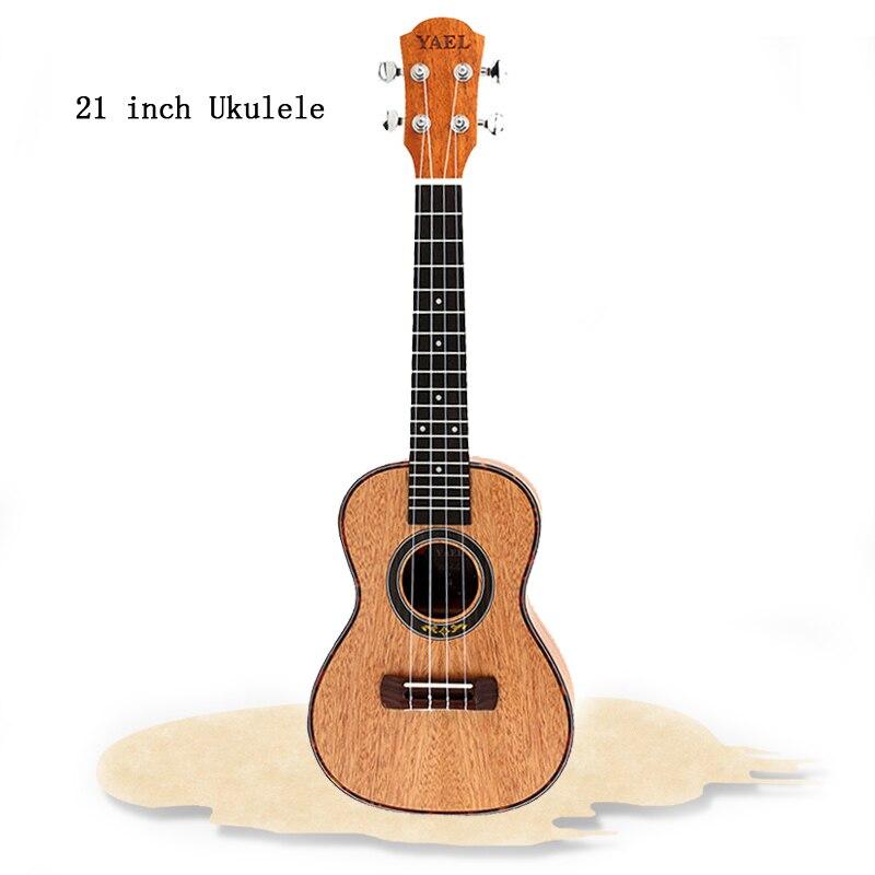 23 pouces 4 cordes acajou ukulélé palissandre Fretboard & Bridge guitare Instrument de musique pour guitare mélomanes cadeau