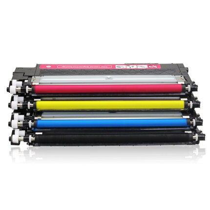 100g//Bottle,6 Black,6 Cyan,6 Magenta,6 Yellow No-name Refill Copier Color Laser Toner Powder Kit for Samsung CLX 3305FN 3307FW CLP-360 CLP-362 CLP-363 Laser Toner Power Printer