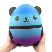 2019 New Fashion Kawaii Jumbo Panda Super Slow Rising Toy Lovely Soft Squeeze Doll Stress Relief Toys For Kids Gift Exquisite
