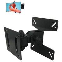 Ayarlanabilir LCD TV Standı Ekran Çerçevesi TV Braket Için bir Duvara Montaj TV 14 ~ 24 Inç LCD TV Üst ve alt 180 derece