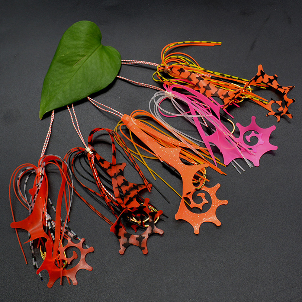 50PCS Copper Slide Parts Fishing Fishing Equipment Snapper Skirts and Rubber Tie Mule Maintenance Supplies-in Fishing Lures from Sports & Entertainment    1