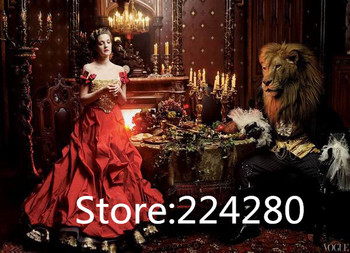 The princess and the lion Animal fashion Needlework,DIY Cross stitch,For Embroidery kits,Cross-Stitching Crafts home decor