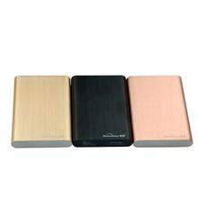 320 GB/500 GB/750 GB/1 TB/2 TB sata USB 3.0 Disco Duro De Aluminio disco duro Hdd SSD Caddy (disco Duro incluido)