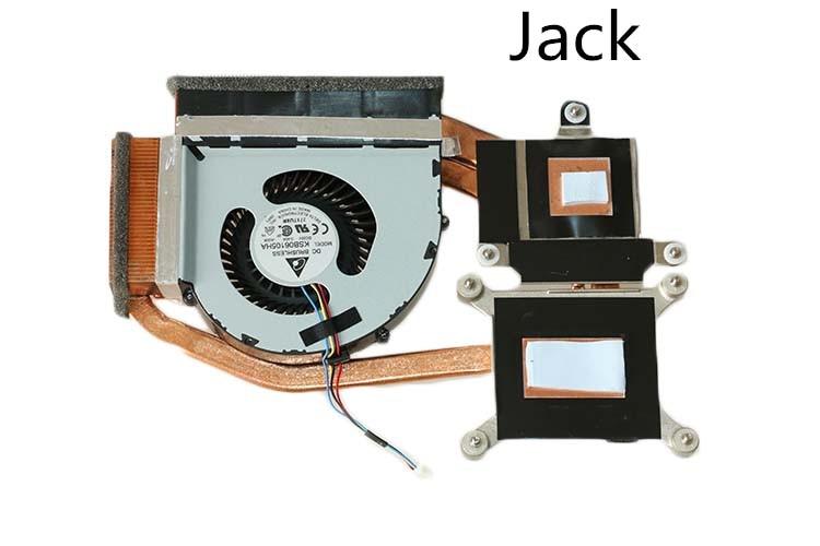 The new Thinkpad laptop Radiator cooling fan CPU independent T520 FRU 04W1576 Cooler Radiator Heatsink
