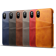 Retro Wallet PU Leather Cases For iPhone Xs Max XR Case Full Protection Back Cover For iPhone 7 8 Plus 6 6S Plus Wallet Case caseme for iphone 6s plus 6 plus wallet retro split leather cover with detachable pc case blue