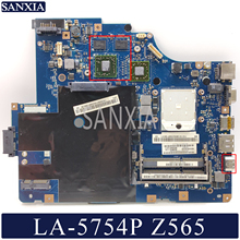Laptop Mainboard Lenovo Z565 LA-5754P HDMI KEFU for G565/original with Hdmi-Video-Card