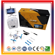 Cheerson CX30W 4CH Wifi FPV RC Quadcopter Drone With HD Camera Drone for Iphone Control Helicopter