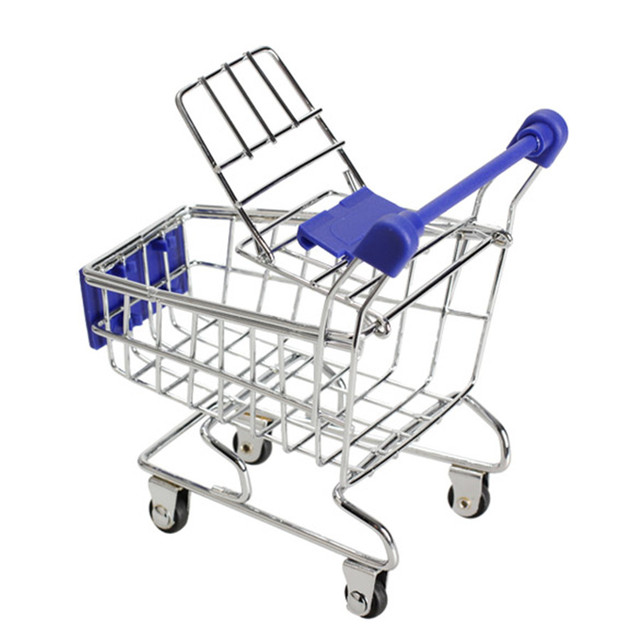 Mini Supermarket Shopping Trolley