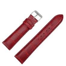 1PC  Fashion Women Leather 20mm Watch Strap Watch Band  2016 Hot Sale Ladies Wrist WatchbandsF3