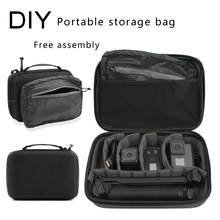 Go Pro Travel Storage Bag Waterproof Box Large Size Case For GoPro Hero 8 7 6 5 4 3+ Session Xiaomi yi 4K  Eken Camera Handbag