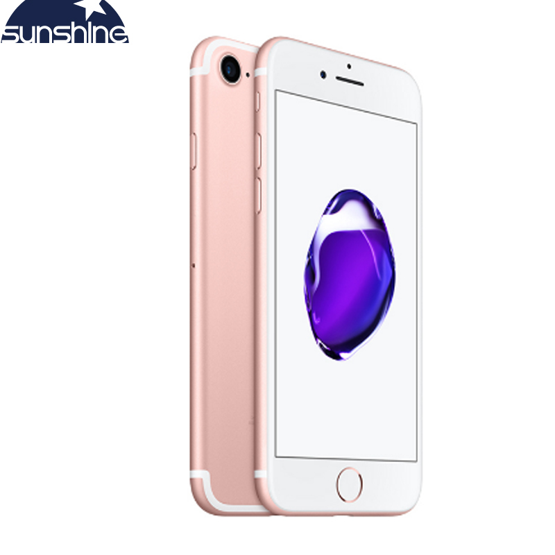 Unlocked Original Apple IPhone 7 4G LTE Smartphone 2G RAM 256GB/128GB/32GB ROM IOS 10 Quad Core  4.7''12.0 MP Mobile Phone