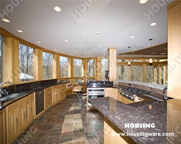Solid Wood Corner Kitchen Pantry Cabinet-in Kitchen