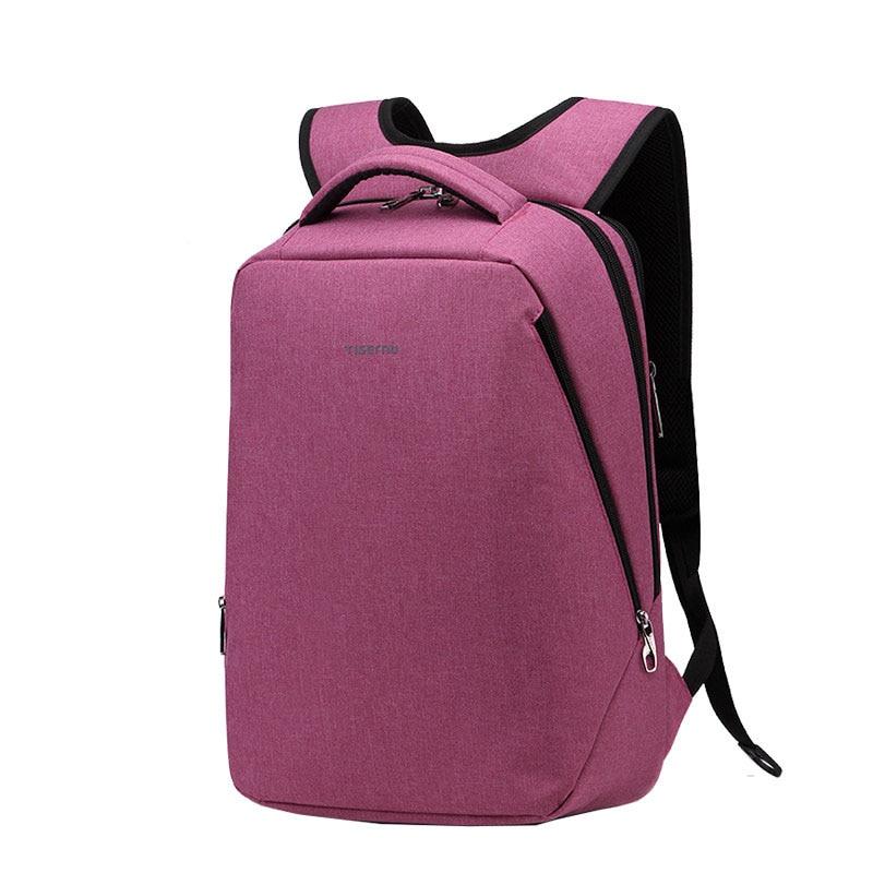 Men New Designer Simple Business Casual Backpack Backside Invisible Laptop Interlayer Fashion High Qulaity Waterproof School Bag waterproof fashion simple men backpack